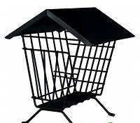 Кормушка-домик для сена черная Trixie , 20*23*20 см