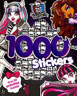 Monster High Книга-стикеры Монстер Хай с заданиями 1000 стикеров Activity Book 1000 Stickers