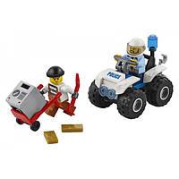 LEGO City Полицейский квадроцикл Police ATV Arrest 60135 Building Kit