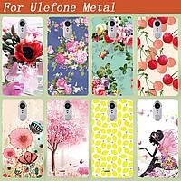 Чехол пластиковий для смартфона ulefone metal