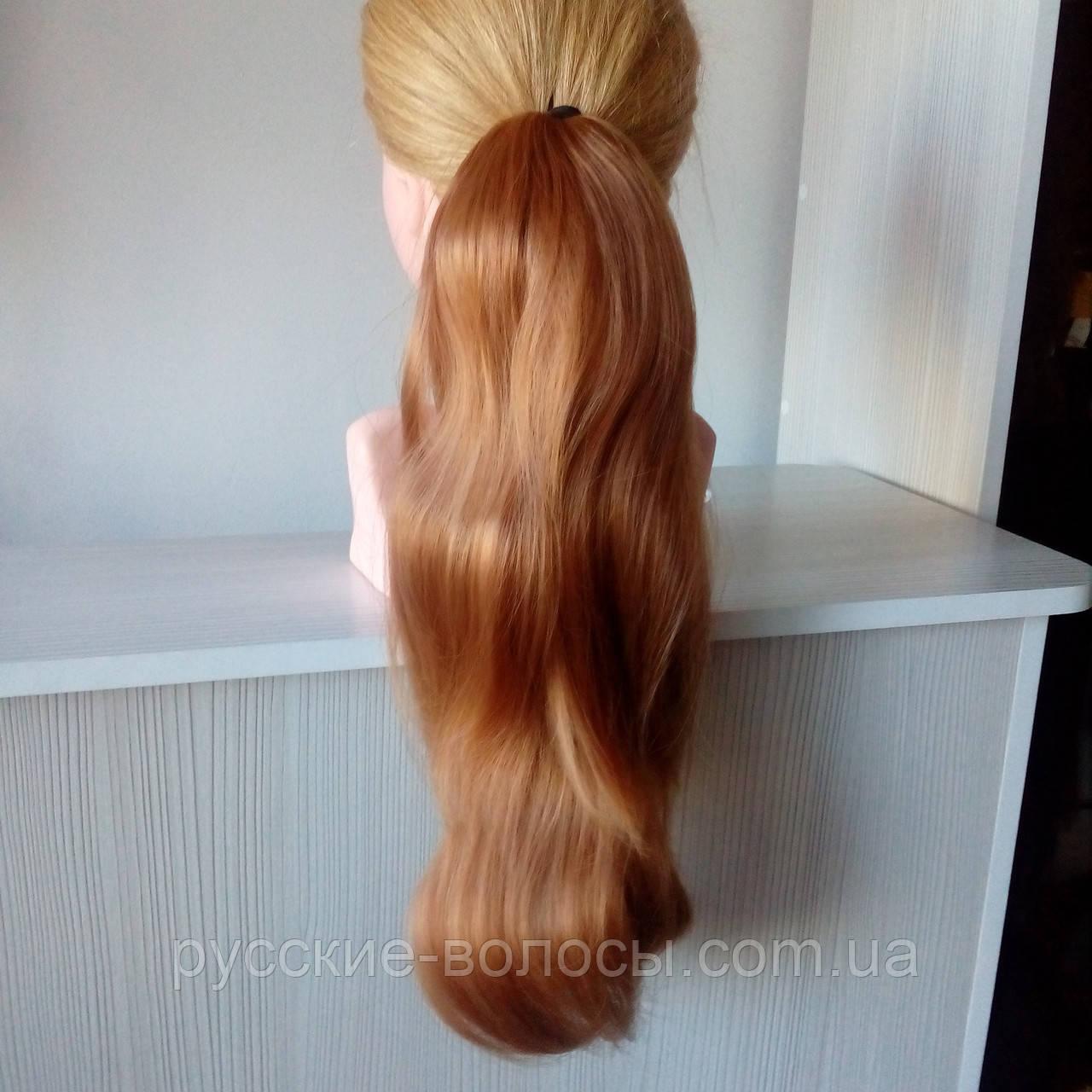 Изготовление накладных хвостов из натуральных волос
