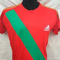 Футбольная форма Adidas взрослая чистая красно-зеленая