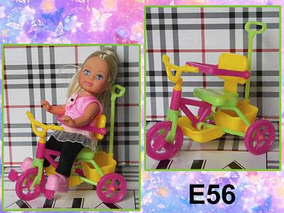 Кроватки, велосипеды и др. аксессуары для кукол Еви и Келли