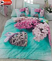 Скидка 15% на постельное белье Cotton box Ранфорс Floral Seri 3D