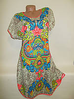 Платье-туника летнее женское № 413