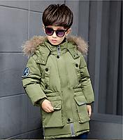 Модный пуховик детский