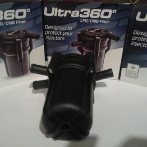 Фильтр Alex ultra 360 с отстойником (один вход и два выхода)