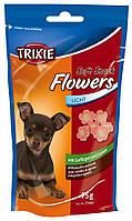 Лакомства Trixie Soft Snack Flowers для щенков и мелких собак с ягненком и курицей, 75 г