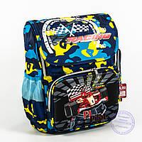 Школьный рюкзак для мальчика с жесткой спинкой и 3Д рисунком - голубой - 125, фото 1