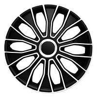КОЛПАКИ ДЛЯ КОЛЕС (Комплект 4 шт) 4 RACING Voltec Black&White R14