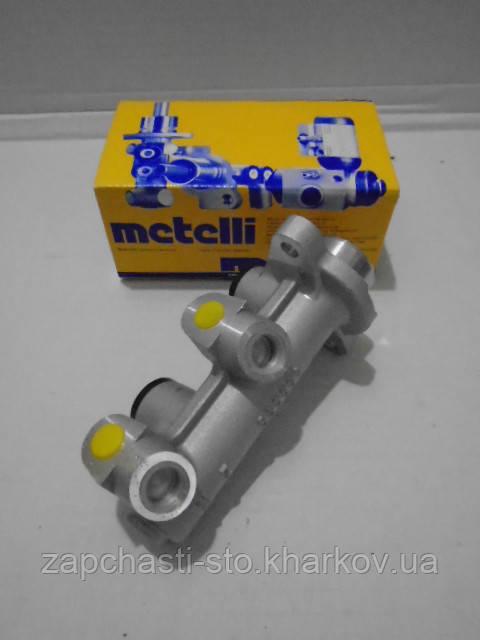 Главный тормозной цилиндр Ланос, Сенс без ABS (4 трубки) Metelli