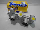 Главный тормозной цилиндр Ланос, Сенс без ABS (4 трубки) Metelli, фото 2