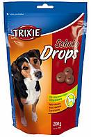 Лакомства Trixie Chocolate Drops для собак со вкусом шоколада, 200 г, фото 1