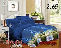 Двуспальный набор постельного белья 180*220 из Полиэстера №851506 KRISPOL™