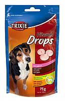 Лакомства Trixie Vitamin Drops для собак с йогуртом, 75 г, фото 1