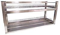 Полки-сушки стеллажи для посуды по размерам заказчика из нержавейки
