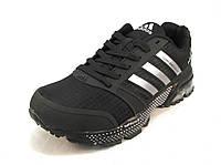 Кроссовки мужские  Adidas Cosmic Maraton Air черные (р.41,42,43,44,45,46)