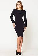 Платье женское Вета 44, черный