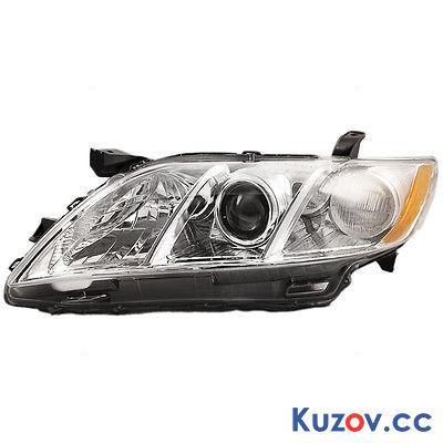 Фара Toyota Camry XV40 06-11 левая (Depo) механич. америк. версия, хром 8117033652
