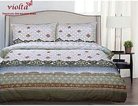 Комплект постельного белья, семейный, сатин