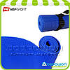 Коврик для йоги и фитнеса PVC HOP-SPORT 3мм, синий