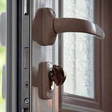 Нажимной гарнитур для ПВХ дверей