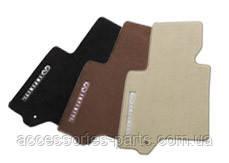 Коврики текстильные черные для Infiniti FX30d/ FX35/ FX37/ FX50 Новые Оригинальные