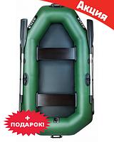 Двухместная надувная лодка Ладья ЛТ-240Б. Гребная;