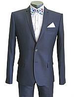 Классический мужской костюм № 92/2-124 - DUZ ENRICO 7