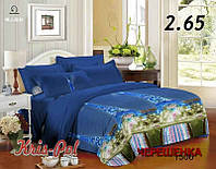 Семейный набор 3D постельного белья из Полиэстера №851506 KRISPOL™