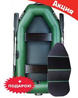 Двухместная надувная лодка Ладья ЛТ-240В. Гребная;