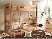 Детская кровать-чердак трансформер b010  (Mobler TM)