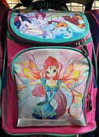 Ортопедический рюкзак для девочки с феями Винкс
