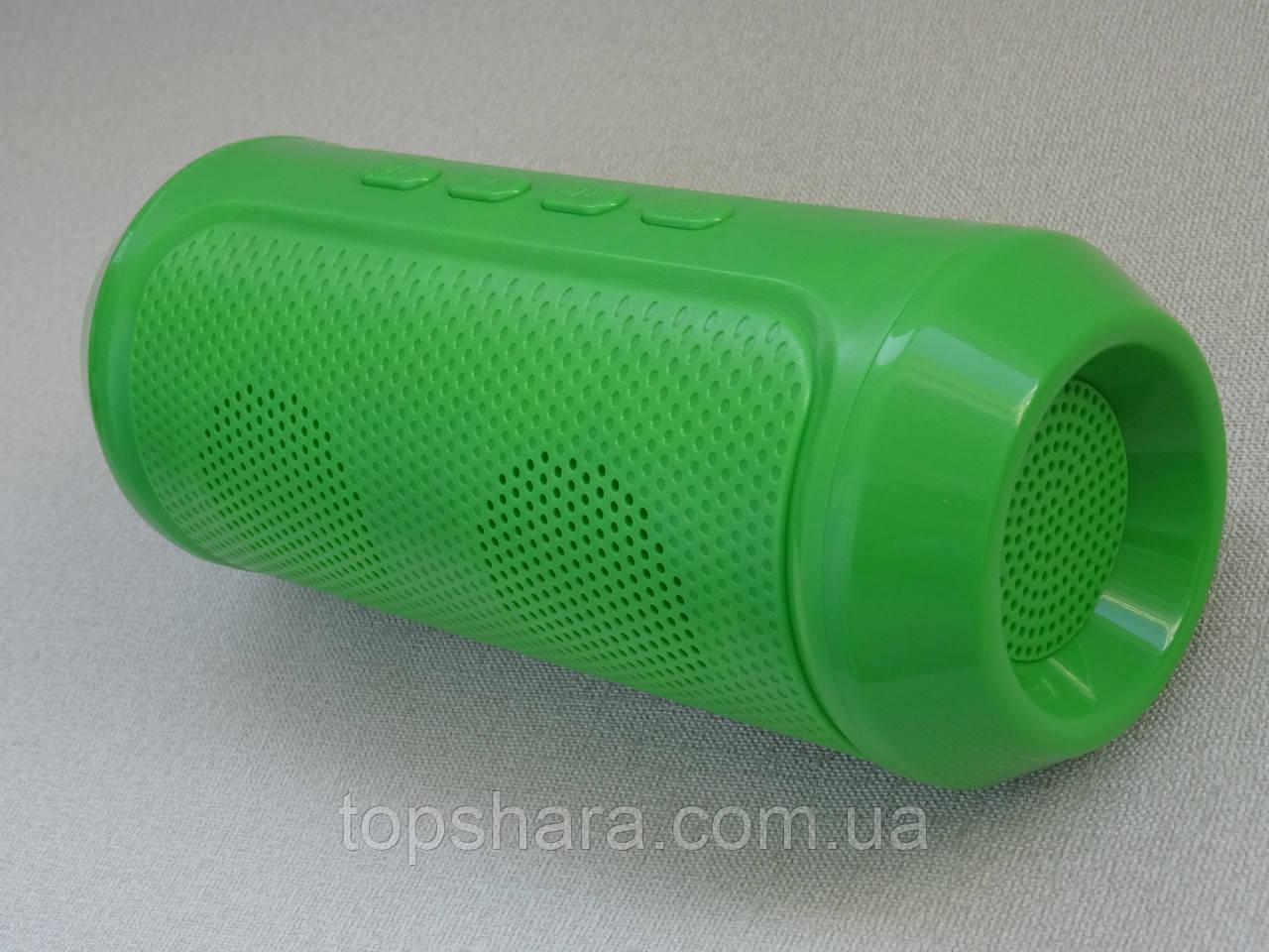 Портативная колонка Bluetooth Q610, музыкальная акустика блютуз (зелёная)