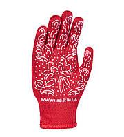 Рабочие перчатки трикотажные с полимерным покрытием ПВХ 10 класс Doloni Мак 4130 (622)