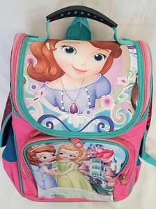 Ортопедический рюкзак для девочки, принцесса София