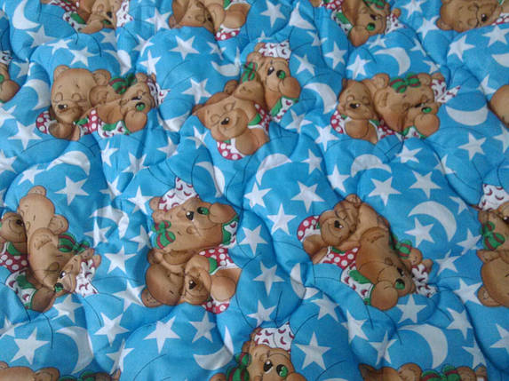 Одеяло детское шерстяное 110*140 поликотон (2902) TM KRISPOL Украина, фото 2