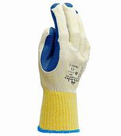 Рабочие перчатки нейлоновые с латексным покрытием полный облив Doloni 4502