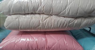 Одеяло летнее двуспальное 180*210 микрофибра 200г/м2 (2904) TM KRISPOL Украина, фото 3