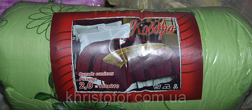 Одеяло двойной силикон 195*200 Евро поликотон (2905) TM KRISPOL Украина, фото 2