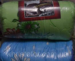 Одеяло двойной силикон 195*200 Евро поликотон (2905) TM KRISPOL Украина, фото 3