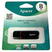 Флешка   8Gb Apacer AH333 White(Акция!!!)