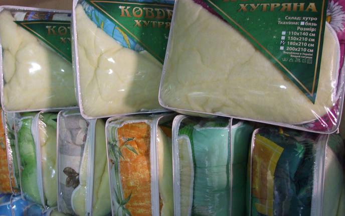 Одеяло меховое 170*210 поликотон (2912) TM KRISPOL Украина, фото 2