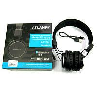 Наушники с микрофоном Atlanfa AT-7611А  BLUETOOTH;FM;microSD (беспроводные)