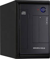 Компьютерный корпус GOLDEN FIELD M210B, Mini ITX 350W