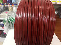 Кант кедер цвет красный 10мм