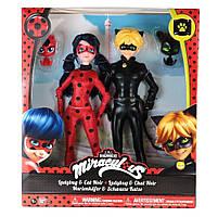 Набор кукол Miraculous Lady Bug и Cat Noir серии Леди Баг и Супер Кот 26 см 39811, фото 6