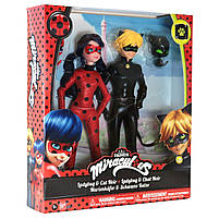 Набор кукол Miraculous Lady Bug и Cat Noir серии Леди Баг и Супер Кот 26 см 39811, фото 7