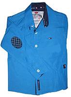 Рубашка для мальчика подростка с длинным рукавом