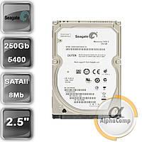 """Жесткий диск 2.5"""" 250Gb Seagate ST9250315AS (8Mb/5400/SATAII) б/у"""